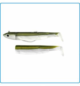 Fiiish Black Minnow Fishing Lure Bodies - Size 90 by Fiiish