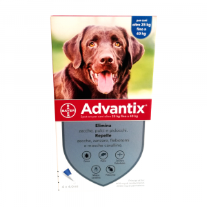 ADVANTIX CANI dai 25 ai 40 kg - antiparassitario in pipette