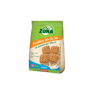 ENERZONA FIBRE-rich IN proteins and 250 g SHORTBREAD with EXTRA VIRGIN OLIVE OIL
