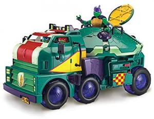 Turtles Veicolo corazzato Tank con personaggio Michelangelo