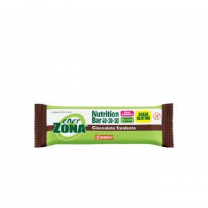 ENERZONA NUTRITION BAR AL CIOCCOLATO FONDENTE RICCA IN PROTEINE E FIBRE-1 PASTO