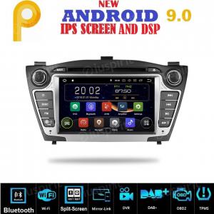 ANDROID 9.0 autoradio 2 DIN navigatore per Hyundai IX35 2009-2015 GPS DVD WI-FI Bluetooth MirrorLink