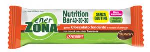 ENERZONA NUTRITION BAR AL CIOCCOLATO FONDENTE E SCORZE D'ARANCIA -1 PASTO