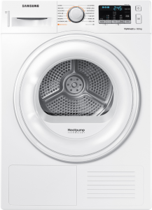 Samsung DV80M50101W Libera installazione Carica frontale 8kg A++ Bianco asciugatrice