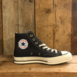 Scarpa Converse Chuck 70 restructured in Canvas Nera e Grigia