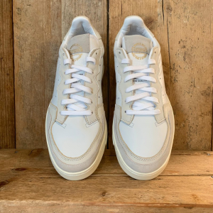 Scarpa Adidas Supercourt in Pelle e Suede Bianca