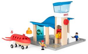BRIO - Set Aeroporto con Torre di Controllo, 33883