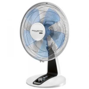 Rowenta Tubro silence Ventilatore domestico con pale Nero, Blu, Bianco