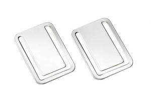 Segnalibro argentato argento silver plated 2pz cm.4,4x3x0,2h