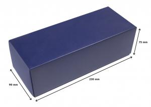Calzascarpe argentato argento da viaggio in silver plated cm.19,2x4,2x3,4h
