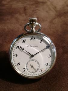 Orologio Longines da Tasca in acciaio.