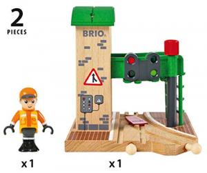 Brio - Doppio Semaforo con Operatore, 33674