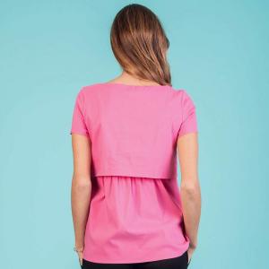 Camicetta allattamento rosa