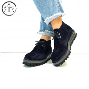 Barleycorn - Air Desert Boot - Blue FW 2019/20