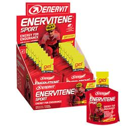 ENERVITENE CARBOHYDRATE AND ENERGY PRODUCT GEL VITAMINS, DURING SPORT