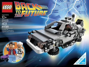 Lego 21103 Back to the Future: The DeLorean Time Machine™