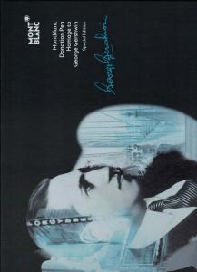 Penna a sfera Donation Pen Hommage à George Gershwin Edizione Speciale