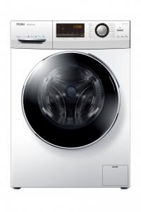 Haier HW80-B14636 lavatrice Libera installazione Caricamento frontale Bianco 8 kg 1400 Giri/min A+++-50%