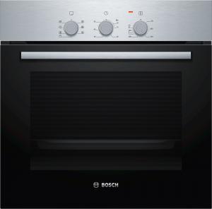 Bosch Serie 2 HBF031BR0 forno Forno elettrico 66 L Nero, Acciaio inossidabile A