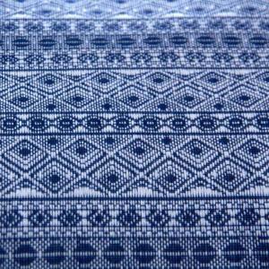 WRAP DARK-BLUE WHITE - Fascia portabebè - Taglia 6