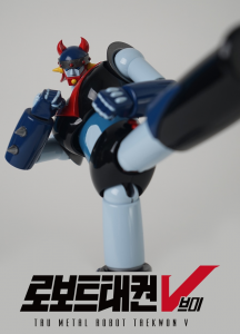 Korean Robot: TAEKWON V Anime Color by 5Pro Stusio