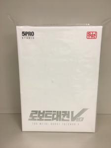 Korean Robot: TAEKWON V Anime Color by 5Pro Stusio
