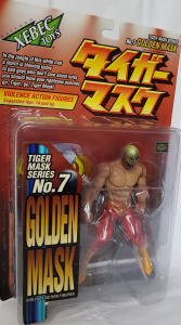 Tiger Mask: Golden Mask No.7 by Kaiyodo