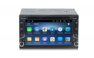 ANDROID 9.0 GPS DVD USB SD WI-FI Bluetooth Mirrorlink autoradio 2 DIN navigatore Nissan Qashqai, Nissan Juke, Nissan X-Trail, Nissan Tiida
