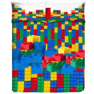 Copripiumino LEGO 3 misure REGALA Copripiumini BRICKS