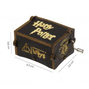 Music Box: Harry Potter dark wood Carillon