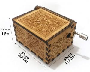 Music Box: Star Wars light wood Carillon