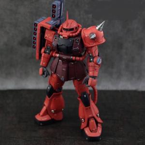 Metal Soldier 1/100 MS-06S Char's Zaku II Red Comet