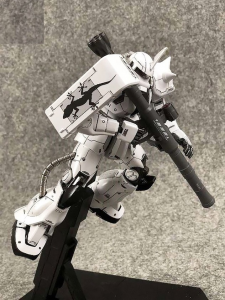 Metal Soldier 1/100 MS06J Zaku II White Ogre