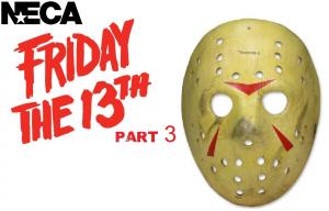 FRIDAY 13th part 3 JASON Mask Replica