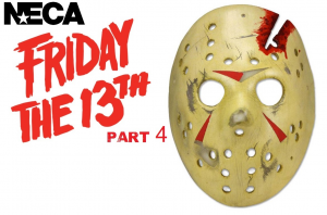 FRIDAY 13th part 4 JASON Mask Replica by Neca