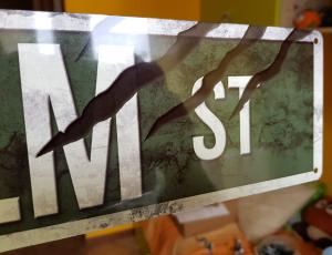 Elm Street Slim Tin Sign Nightmare