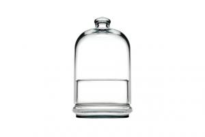 Contenitore in vetro Pasticceria cm.24,5h diam.12,1
