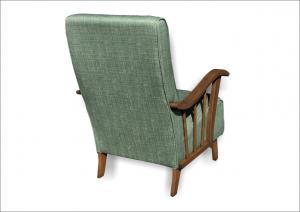 Poltrona vintage anni '50 verde