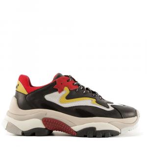 Sneakers -ASH-ADDICT-colore giallo rosso e nero