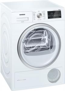 Siemens iQ500 WT47W458II asciugatrice Libera installazione Caricamento frontale Bianco 8 kg A++