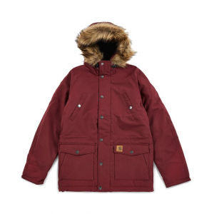 Giacca Carhartt W Trapper Parka Bordeaux