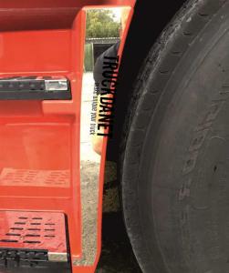 REANAULT TProfili pedana anteriore in acciaio Inox lucido (aisi 304)
