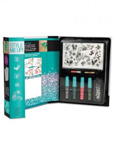 Style Me Up - Kit tatuaggi glitter per bambini