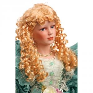 Bambola stile barocco Caterina con mani e testa in porcellana