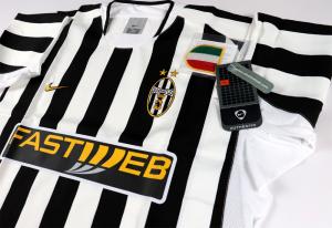 2003-04 Juventus Maglia Home  *Cartellino e Confezione