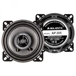 New Majestic AP-205 altoparlante auto 2-vie 100 W Rotondo 2 pezzo(i)