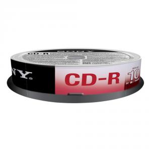 Sony CD-R 700 MB (80 min), 10 pk 700MB 10pezzo(i)