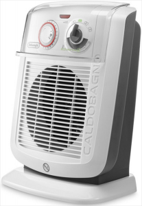 DeLonghi HBC 3052T Bianco 2400W Ventilatore stufetta elettrica