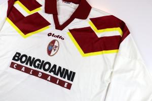 1994-95 Torino Maglia Away Match Worn/Issue #7 Rizzitelli XL