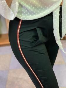 Panta sporty Chic banda laterali Taglia XL